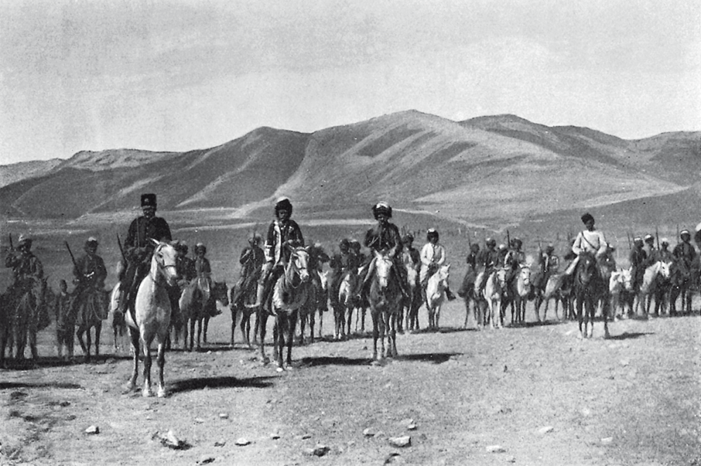 Lynch_Armenia_Hamidiye_cavalry_at_village_of_Gumgum.png