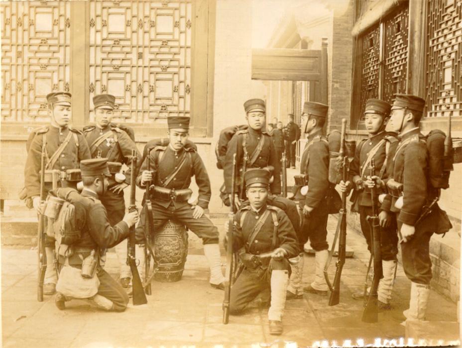 Китай, 1900, японская пехота-1.jpg