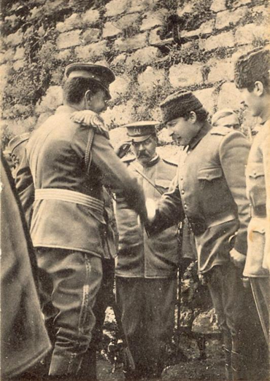 Essad_Pasha_and_the_Montenegrin_Officers