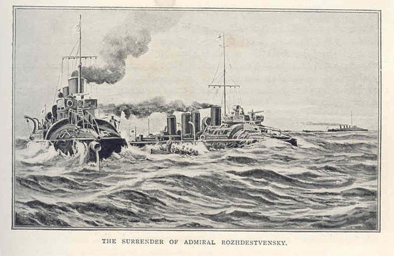 The_surrender_of_Admiral_Rozhdestvensky.