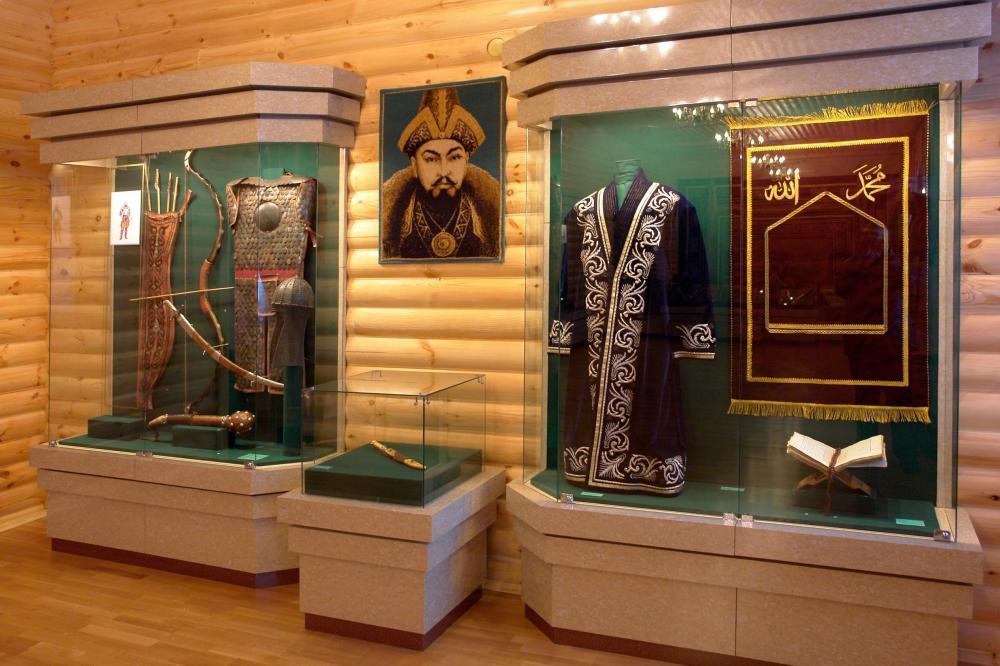 Вооружение и одежда в доме Абылай-хана.JPG