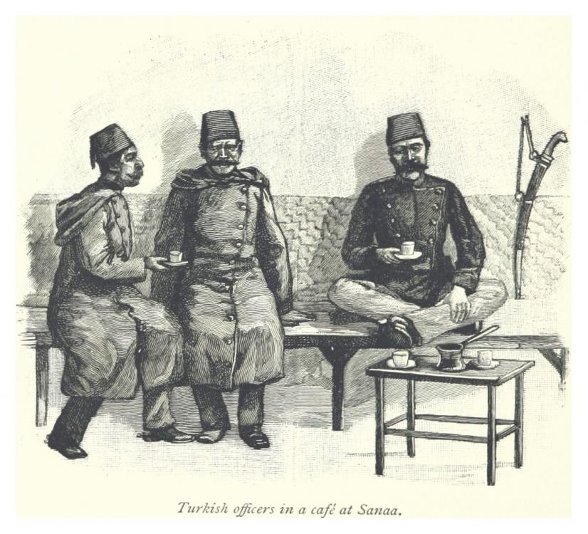 Turkish_officers_in_a_cafe_at_Sanaa.thum