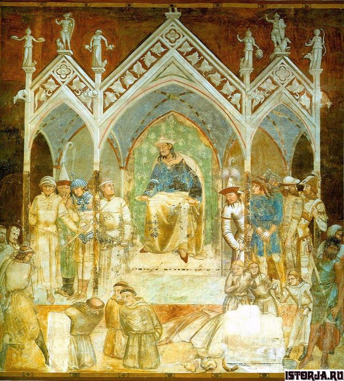 Lorenzetti_Ambrogio_martyrdom-of-the-fra