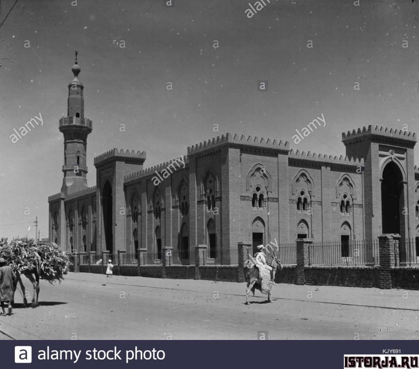 sudan-omdurman-main-mosque-1936-KJY691.t